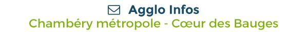 Agglo Infos / Chambéry Métropole