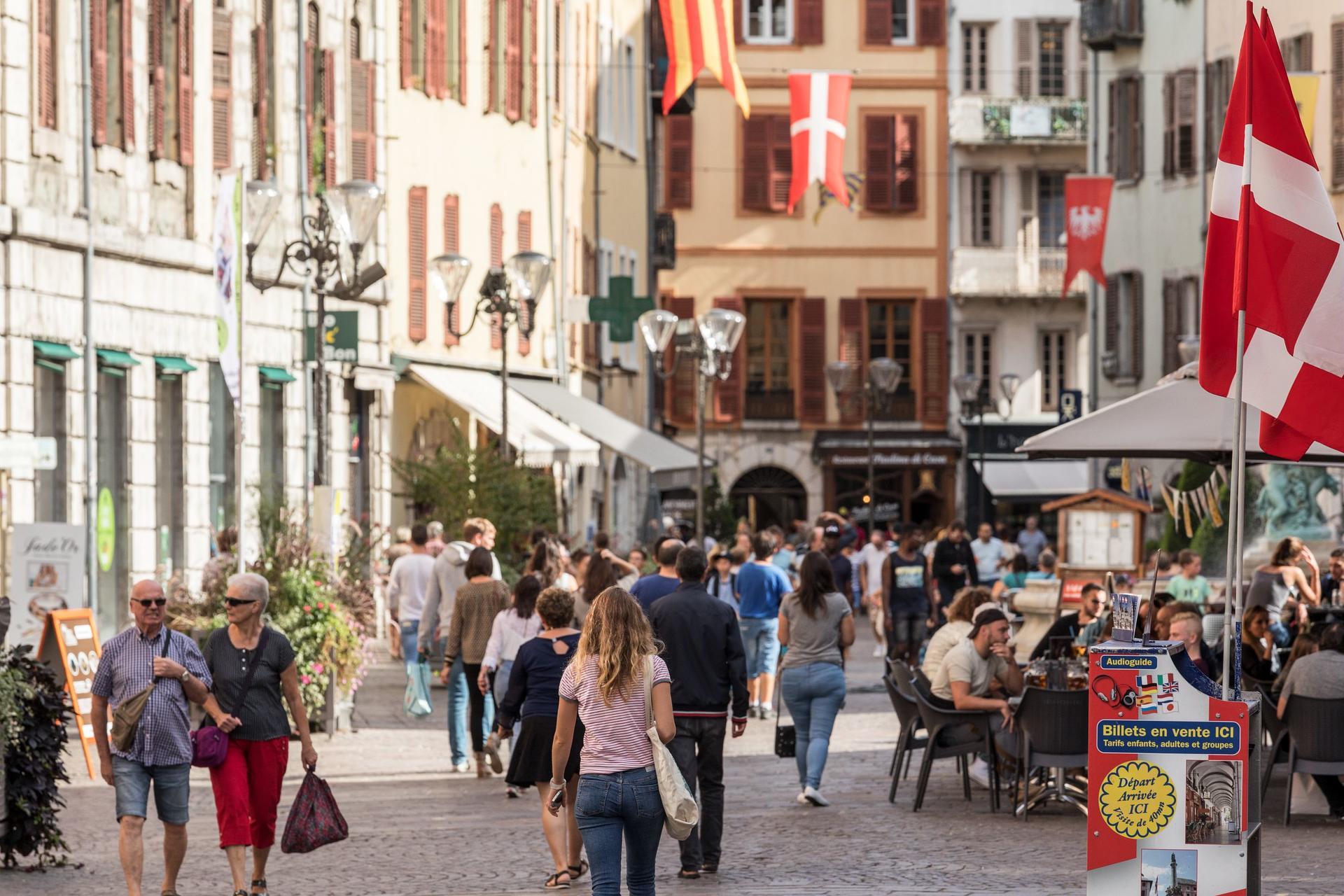 Centre ville de Chambéry